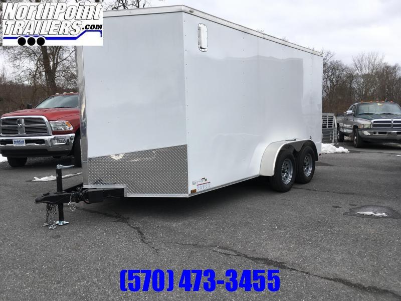 2018 Samson SP714TA Cargo Trailer - White