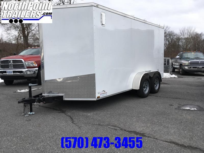 "2019 Spartan SP714TA Cargo Trailer - White - 6' 6"" Interior Height"