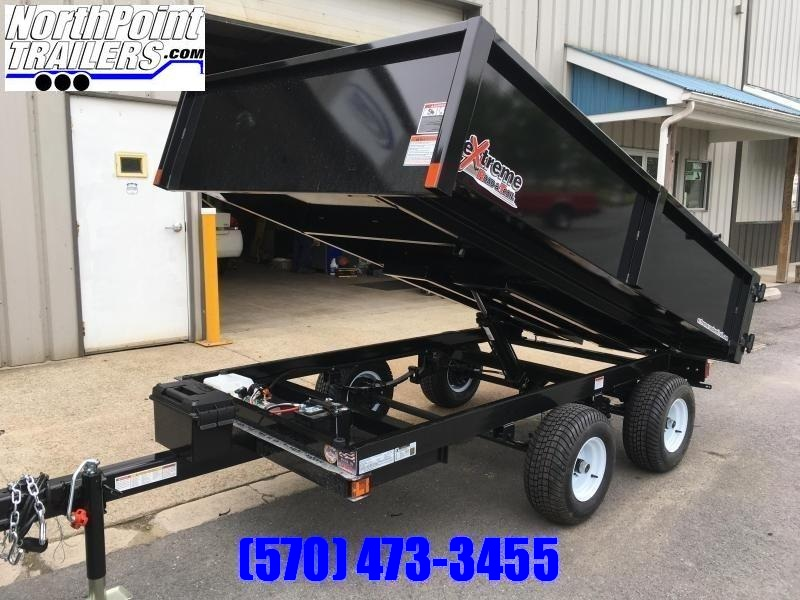 2019 XRT-418 Dump Trailer - Barn Doors w/ Slide Out Ramps