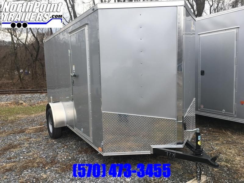 "2019 Samson SP6x12SA Enclosed Trailer - 6'6"" Interior"
