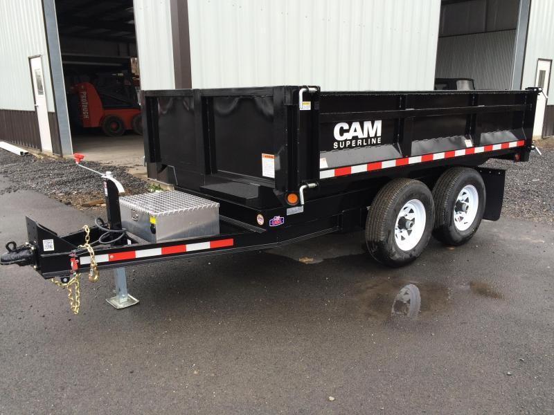 2019 CAM 5CAM610DODT - Black Deckover Dump