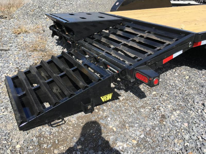 2018 Big Tex Trailers 14ET-18 MEGA RAMPS Equipment Trailer
