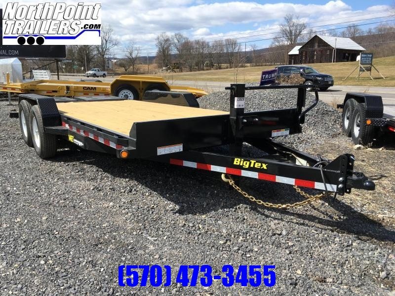2018 Big Tex Trailers 14ET-18 MEGA RAMPS Equipment Trailer