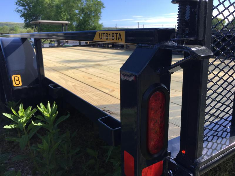 2017 Belmont UT618TA-10K - Black