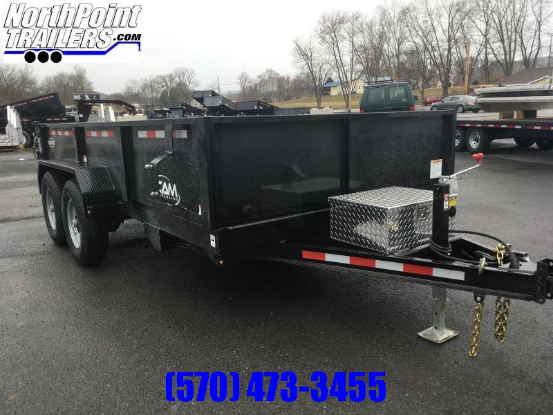 2018 CAM Advantage 14-6814LPHDT Dump Trailer