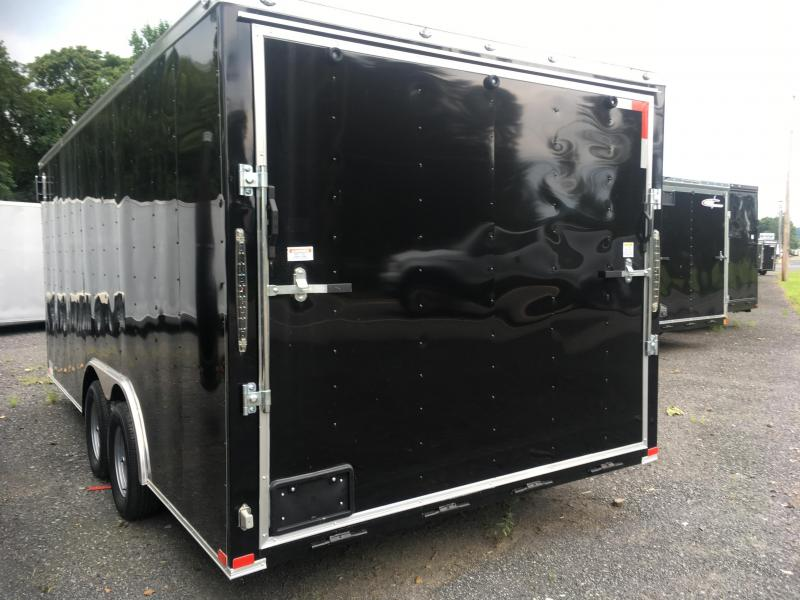 "2018 Samson SP8.5x18 Enclosed Trailer - 84"" Interior - 9990 GVWR"