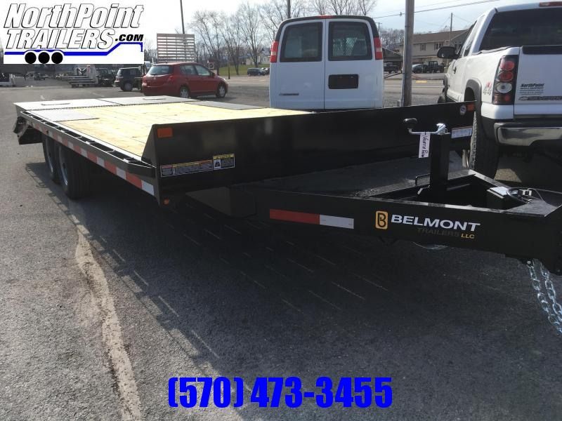 2018 Belmont Machine DO920-10K Deckover Trailer w/ MAX Ramps