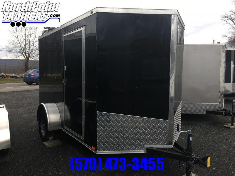 2017 Samson SP6x10SA Enclosed Trailer - Black
