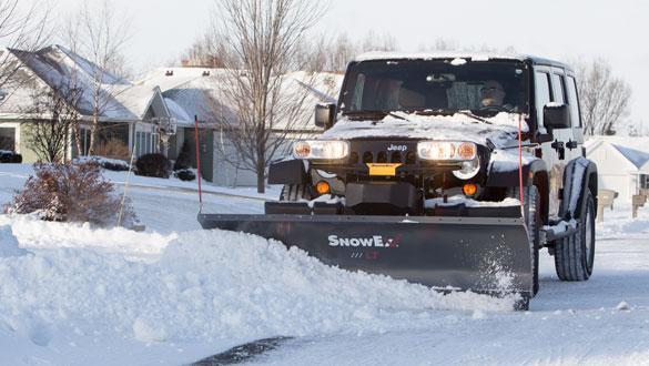New SnowEx 7200 Light Duty Snow Plow
