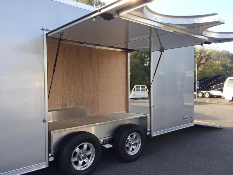 2017 ATC 8.5x24 Raven Car Hauler - Premium Escape Door