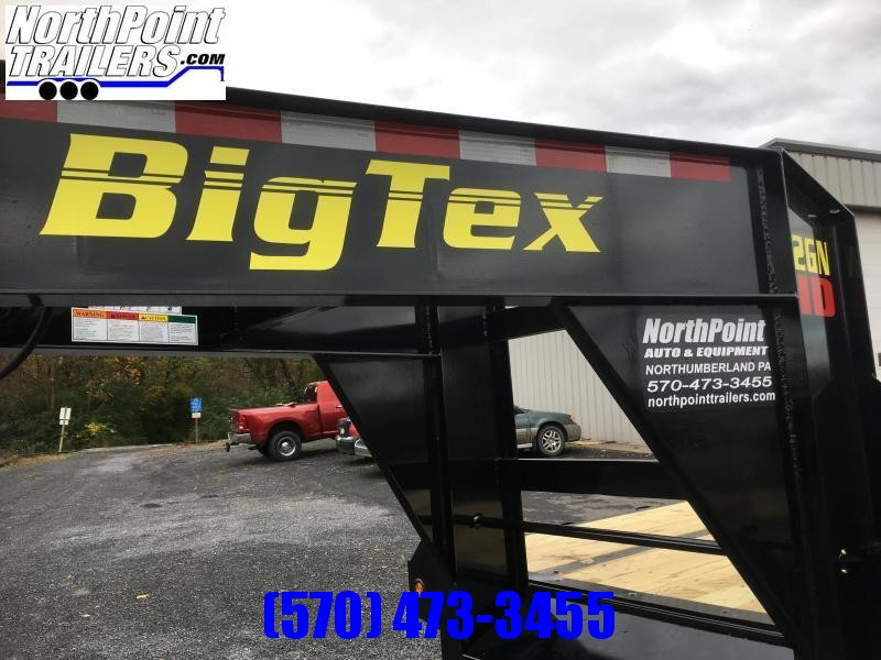 2019 Big Tex Trailers 22GN-20BK+5MR Gooseneck Equipment Trailer