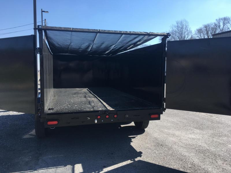 "2019 Big Tex Trailers 83"" x 14' - 4' High Sides - Slide In Ramps - Spare Mount - Tarp Kit!!!"