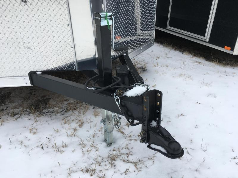 2017 Cross Trailers 716TA - Adjustable Coupler & Dropfoot Jack