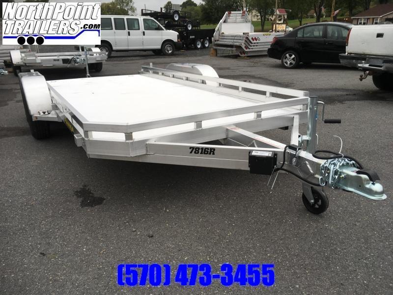 2020 Aluma 7816R Tandem Axle Utility Trailer