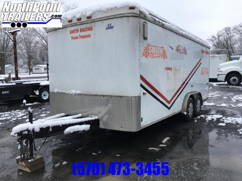 2005 US Cargo 7.5x18 Enclosed Cargo Trailer