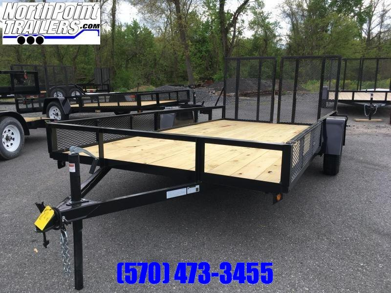 2019 TWF 102x14U w/ Side Ramps & Split Rear Gate