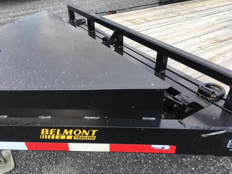 **USED** 2015 Belmont SSTD18-12K Skidsteer Tilt Trailer