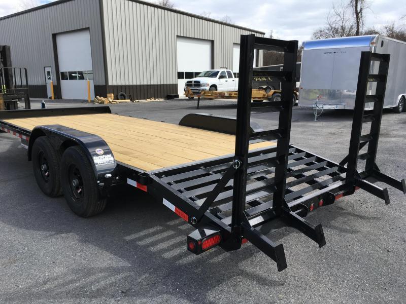 2018 Big Tex Trailers 10ET-18 Equipment Trailer