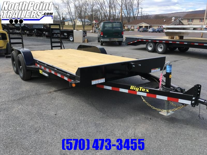 2018 Big Tex Trailers 10ET-18 Equipment Trailer