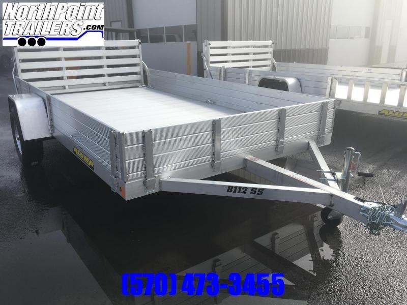 2020 Aluma 8112SS Utility Trailer - Solid Side Utility