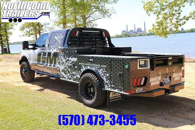 """CM TM2 Deluxe Truck Bed - 97"""" x 8' 6"""" Deluxe Truck Bed - DRW Long Bed - 56"""" CA"""
