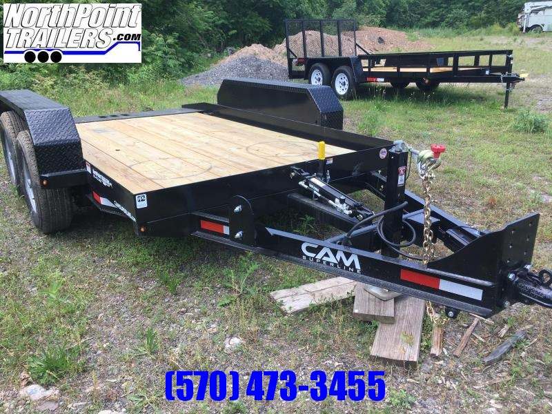 2018 Cam Superline 5CAM612FTT Full Tilt Equipment Trailer