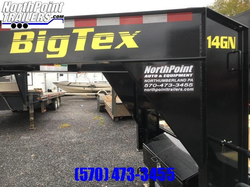 2018 Big Tex Trailers 14GN-20BK+5