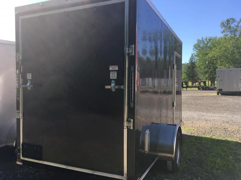 2018 Samson SP6x12SA Enclosed Trailer - Charcoal Gray - 7' Interior