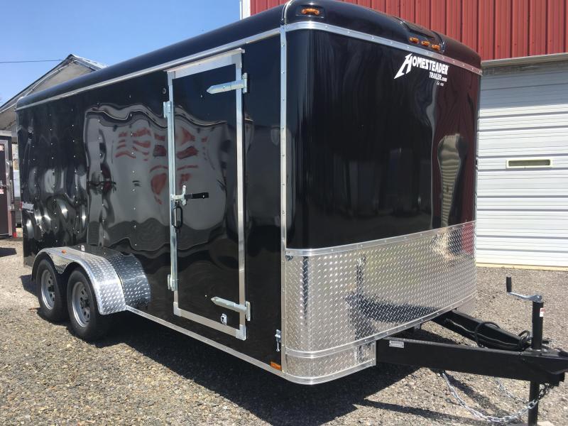 2018 Homesteader 716CT Enclosed Cargo Trailer