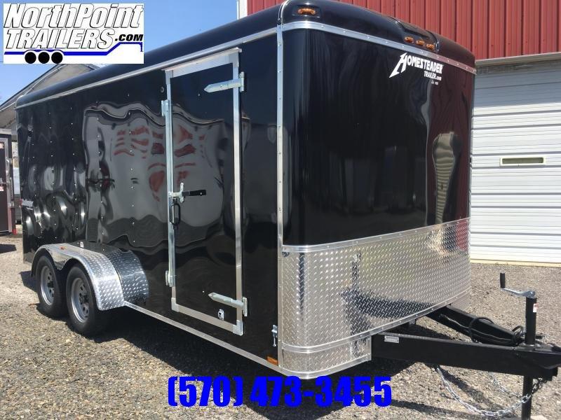 **LEFTOVER** 2018 Homesteader 716CT Enclosed Cargo Trailer