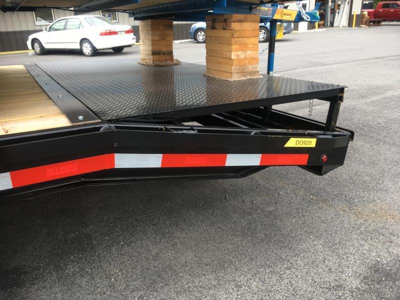 2017 Belmont Machine GN24-14K Gooseneck w/ Adj. Beavertail & Slide-out Ramps