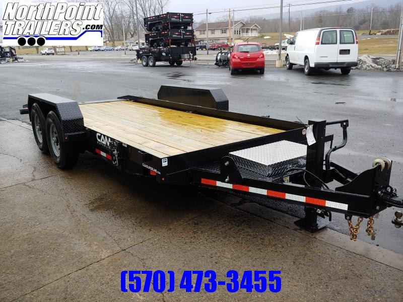 2020 CAM Superline 7CAM18FTT - 18' Full Tilt Equipment Trailer -