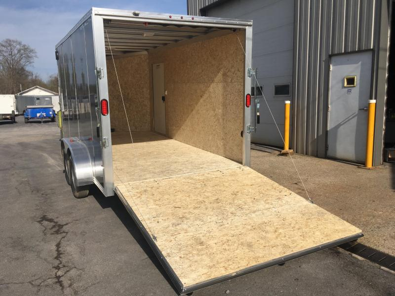 2018 CargoPro C7x14S-IF - Cargo Trailer - Charcoal