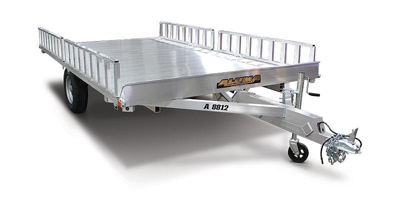 2019 Aluma A8812 - 3-Place ATV Trailer
