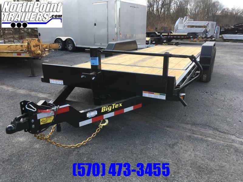 2018 Big Tex Trailers 14TL-20 Tilt Equipment Trailer