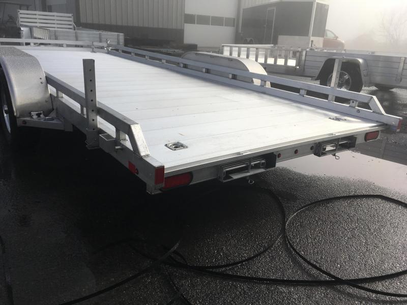 2019 Aluma 7818R Tandem Axle Utility Trailer