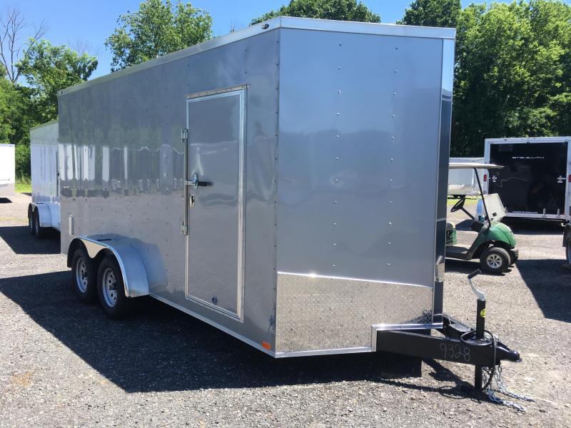 "2019 Samson SP716TA Cargo Trailer - 80"" Door Opening - E-Track - SILVERFROST"