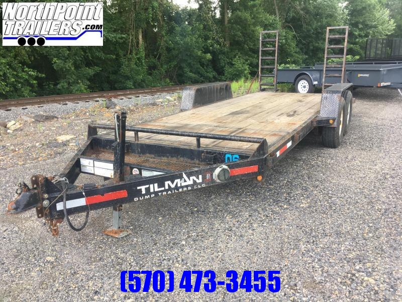 2008 Tillman 18' Equipment Trailer
