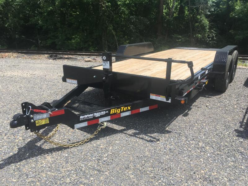 2020 Big Tex Trailers 14FT-18 - Full Tilt Equipment Trailer