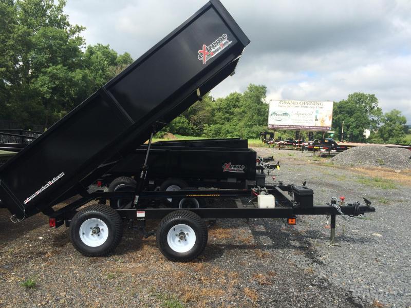 2018 XRT-418 Dump Trailer - One-Piece gate