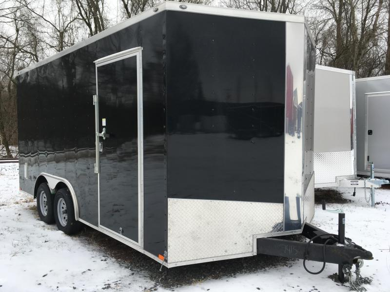 2018 Samson SP8.5x16 Enclosed Trailer - White
