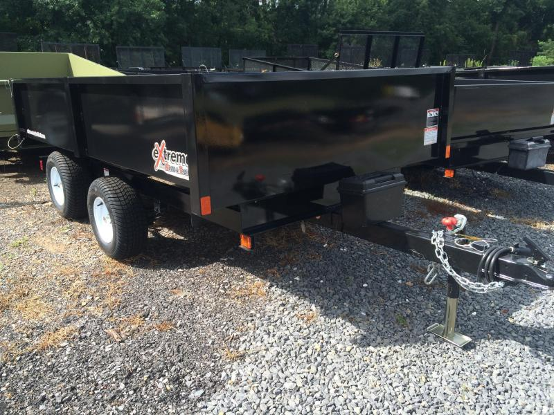 2017 XRT-418 Dump Trailer - One-Piece gate w/ Coal Door