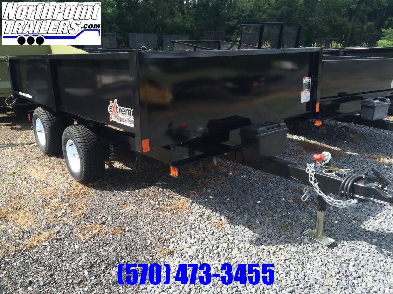 2018 XRT-418 Dump Trailer - One-Piece gate w/ Coal Door