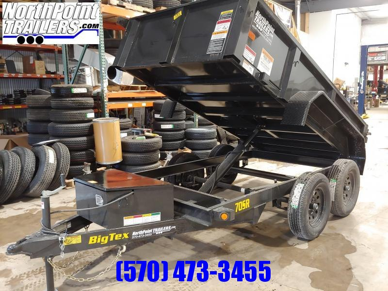 2019 Big Tex Trailers 5x10 - 7k - Dump Trailer w/ Double Doors