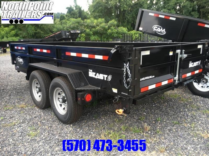"2018 CAM 7CAM616LPHDT 7x16' Dump Trailer ""THE BEAST"""