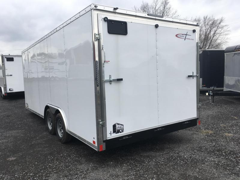2019 Cross Trailers 820TA - Arrow Nose - White