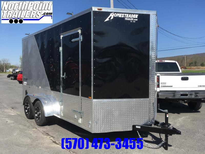 2018 Homesteader 714PT w/ OHV Package - 7' Interior - Two Tone