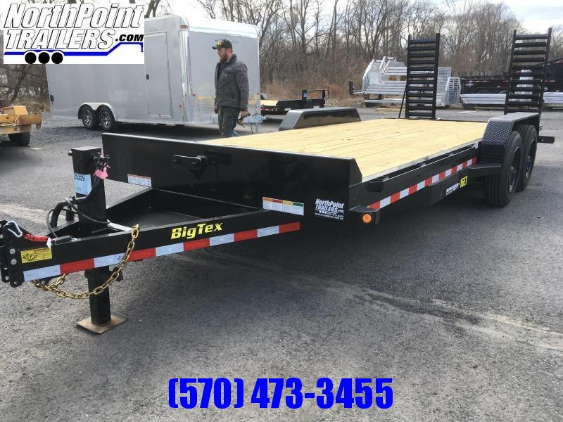 2018 Big Tex Trailers 16ET-17+3 Equipment Trailer - **8K Oil Bath Axles**