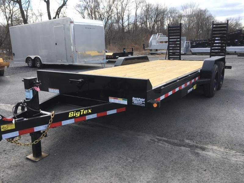 2018 Big Tex Trailers 16ET-17+3 Equipment Trailer - **8K Oil Bath Axles**