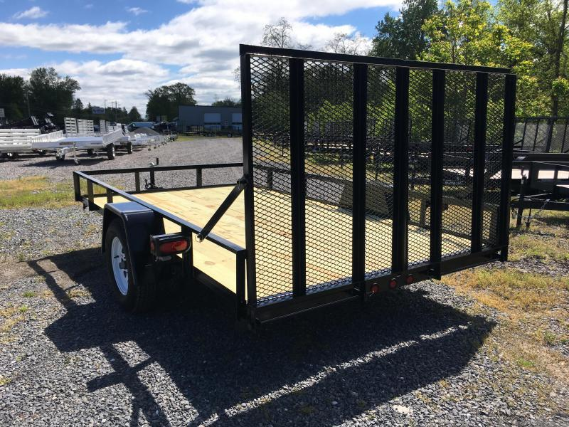 2018 TWF 102x12 Single Axle Split Rear Gate